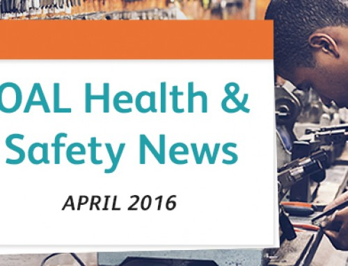 April Health and Safety News